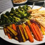 vegetarian vegan retreat food